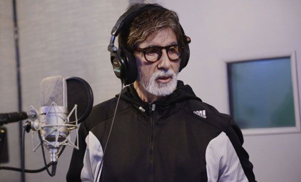 Big B Sing National Anthem At Pro Kabaddi League Opening
