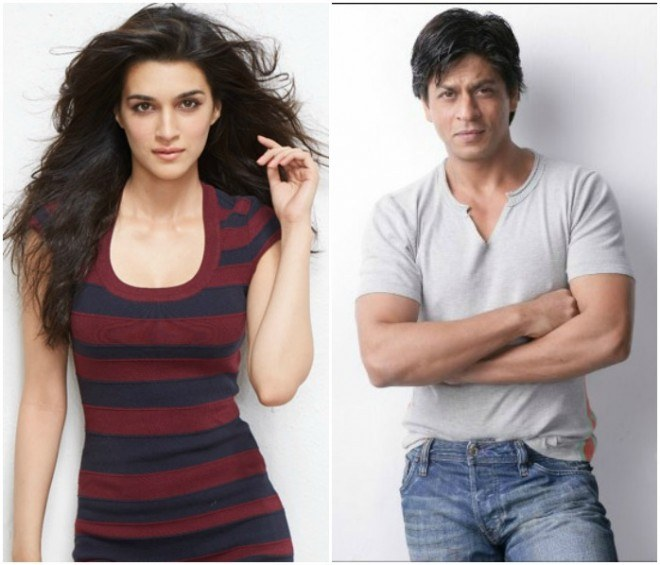Starstuck Kriti Sanon Talks About Her Experience With SRK On First Day