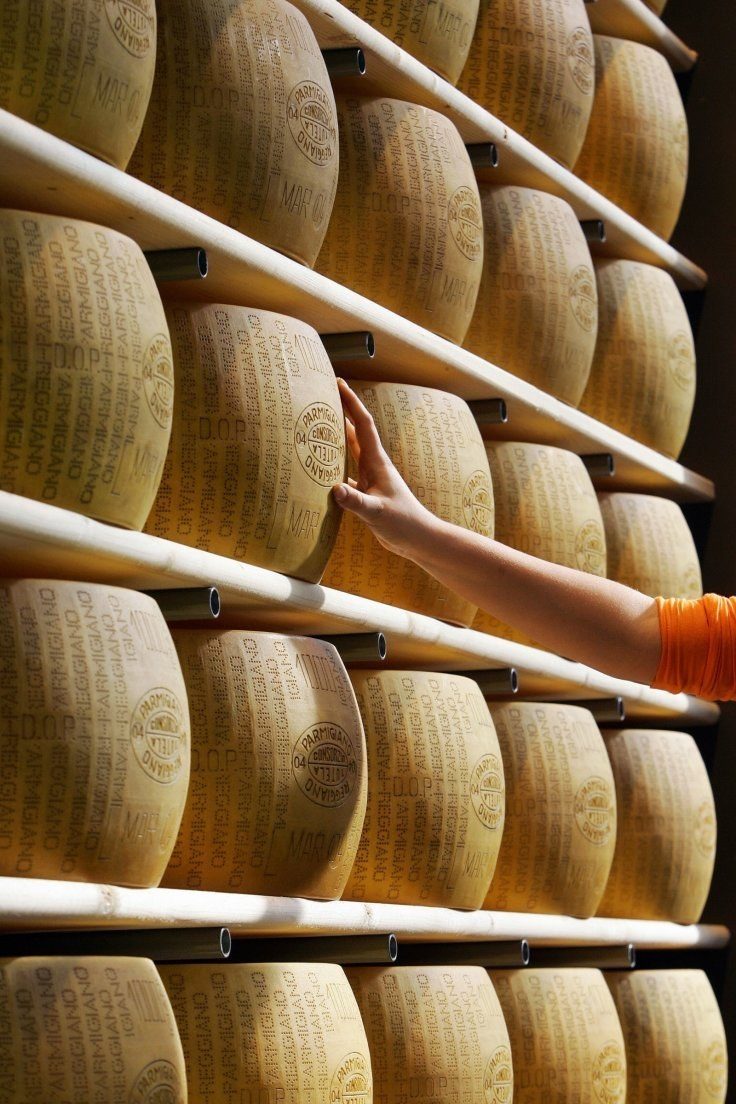 Adult film website Pornhub Could be sued by agency in charge of Parmigiano-Reggiano parmesan cheese over vulgar advert