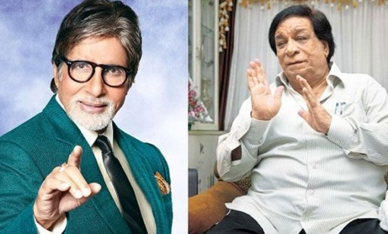 Amitabh Bachchan Says On Twitter Kader Khan ComeBack To Films