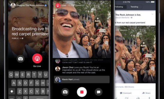 Facebook Starts Live For Mentions A Live Streaming Tool For Celebrities Only