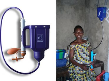 Tanzanian engineer invents low-cost water filter
