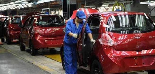 Paralizada planta de carros Chery por conflicto laboral