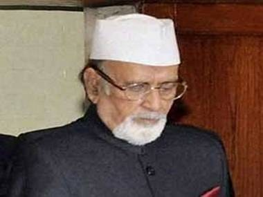 Manipur Governor Dr Syed Ahmed passes away: President PM express condolences