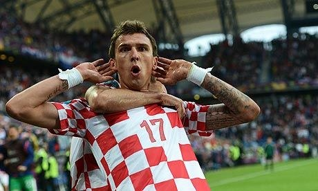 Croatian Footballer Mario Mandzukic out of Croatia qualifier