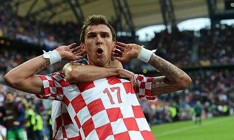 Croatian Footballer Mario Mandzukic out of Croatia qualifier