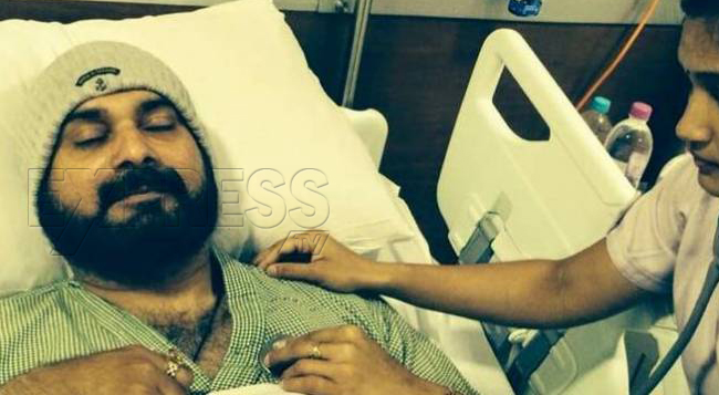 Former-Cricketer-Navjot-Singh-Sidhu-admitted-to-Indraprastha-Apollo-Hospitals-for-DVT-treatment