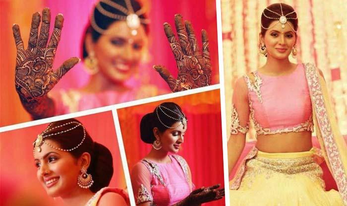 Harbhajan- Singh-Geeta- Basra- Wedding- Ceremonies- Start- With- Mehandi