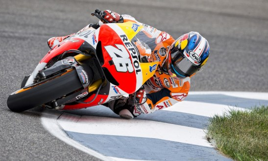 Motorcycle Racer Dani Pedrosa Takes 50th GP Win At Motegi