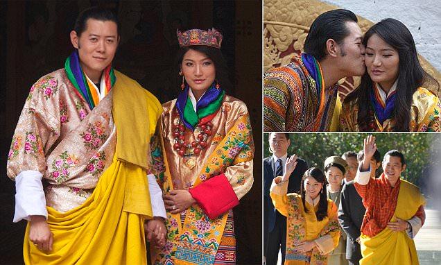 Bhutan-King-Jigme-Khesar-Namgyel-Wangchuck-and-Queen-Jetsun-Pema