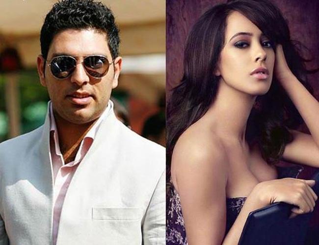 Indian cricketer Yuvraj Singh gets engaged to girlfriend Hazel Keech