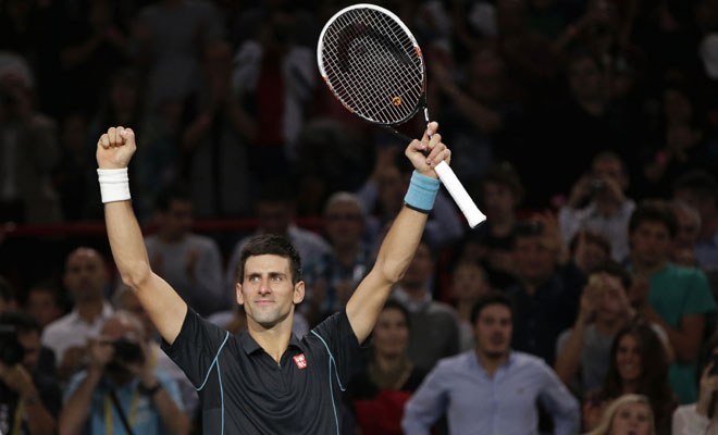 Novak Djokovic the master as Andy Murray wilts at Paris Masters