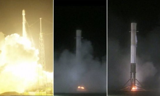 Billionaire Elon Musk Makes Space Travel History: Space X Falcon 9 Rocket Launched From Cape Canaveral Successfully