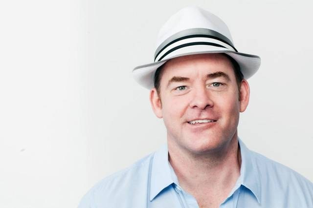 Comic actor David Koechner is back in KC for six stand-up shows