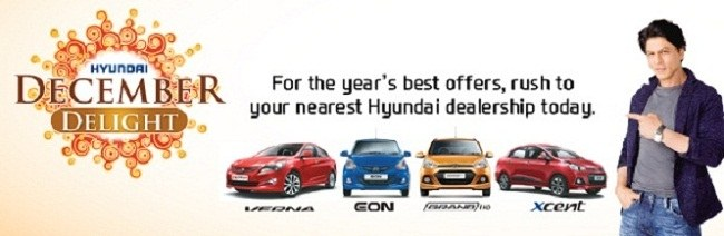 Hyundai India Offers Massive Discount Valid Till December End