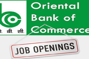 Oriental Bank Of Commerce Hiring For Faculty Posts