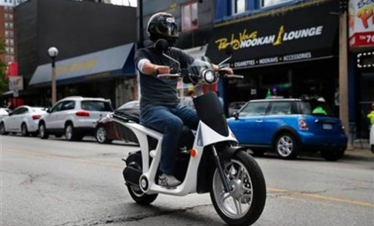 Anand Mahindra launches all-electric scooter GenZe 2.0 in California