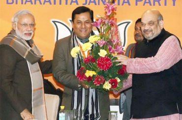 BJP CM Candidate Sarbananda Sonowal In Poll Bound Assam
