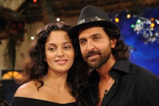 Bollywood Superstar Hrithik Roshan and Kangana Ranaut In Relationship