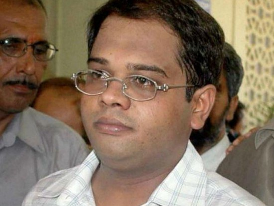 Former CM Ajit Jogi Son Expelled From Congress For Six Years