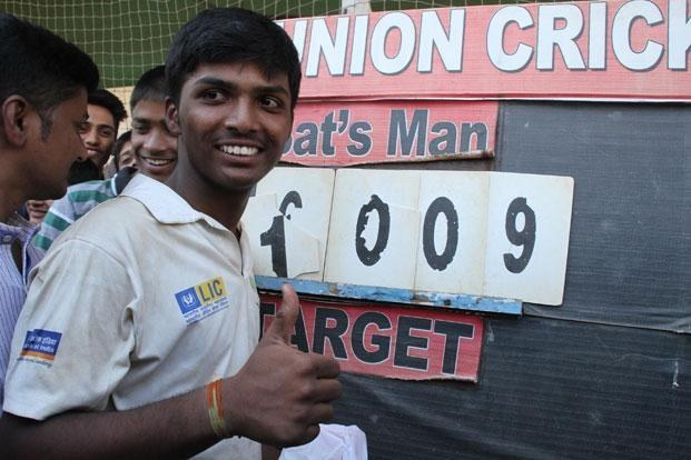 Pranav Dhanawade Joins Cricket Grand Club Of One