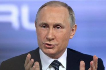Russian President Vladimir Putin Names US And NATO As Threats To National Security