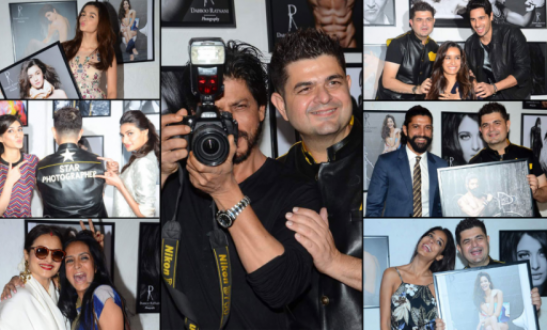 SRK Shraddha Kapoor Sunny Leone Kriti Sanon At Dabboo Ratnani Calendar Launch