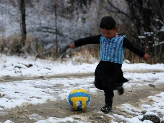 Afghan Boy Lionel Messi Jersey Made From Plastic Bag Steals Internet Heart