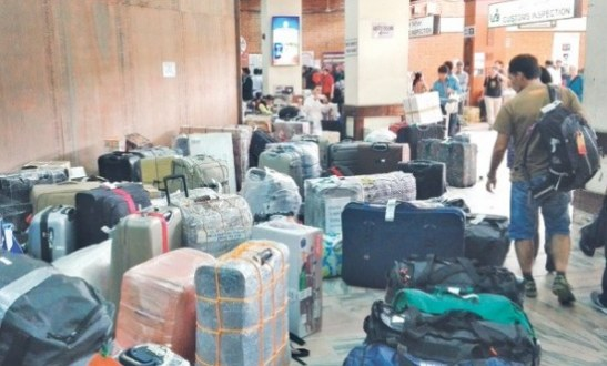 Baggage Claim Still A NightMare At Tribhuvan International Airport