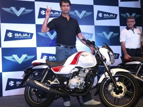 Bajaj launches new commuter motorcycle V15 at Rs 63000