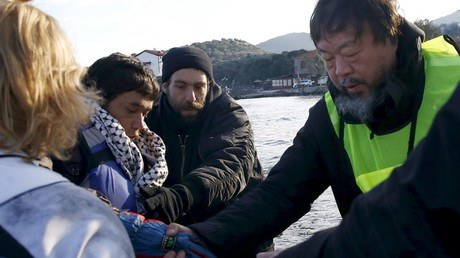 Chinese Artist Ai Weiwei Recreates Haunting Image Of Syrian Toddler Alan Kurdi