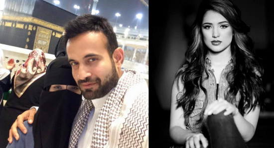 Indian-Cricketer-Irfan-Pathan-Married-Saudi-Arabian-Model-Safa-Baig-In-Mecca