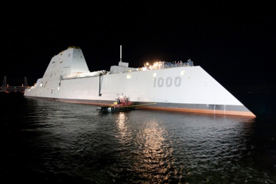 Navy-Admiral-Considers-Electric-Gun-For-A-zumwalt-Class-Destroyer