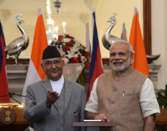 Nepal-Prime-Minister-K-P-Sharma-Oli-Keen-To-Develop-Pancheshwar-Dam