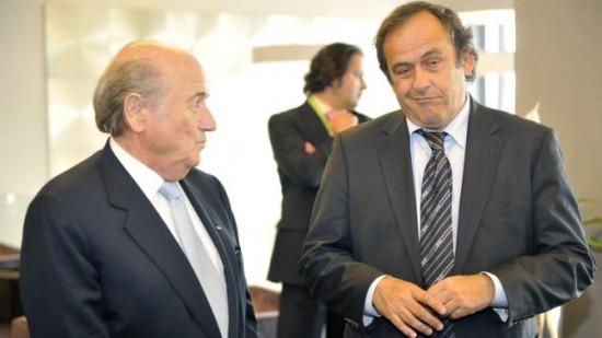 Sepp-Blatter-Claims-Michel-Platini-For-Qatar-World-Cup-Farce