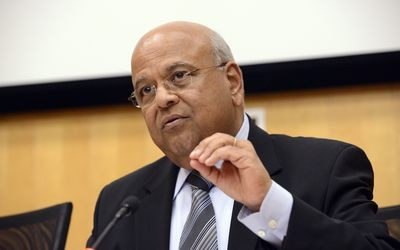 South-African-Finance-Minister-Pravin-Gordhan-Holds-Talks-With-Business-Before-Budget