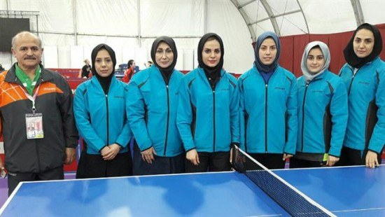 Iranian Female Ping Pong Players Impress In 2016 World Tennis Championships In Malaysia