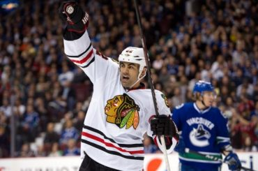 Jamal Mayers finds latest chapter of Blackhawks career