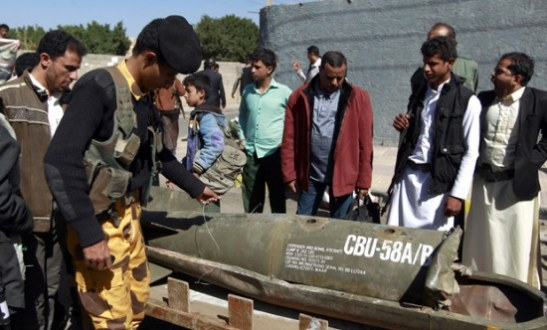 Saudi Arabia Used American Cluster Bombs To Kill And Maim Civilians In Yemen