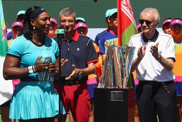 Serena Williams coattails carrying a pretty heavy load when it comes to promoting tennis around the world