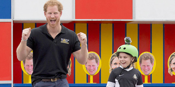 Bold 9-year-old asks Prince Harry: 'Are you ever going to be king?'