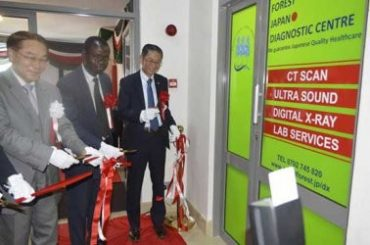 Japanese hospital opened multi million shilling diagnostic Centre in Nairobi
