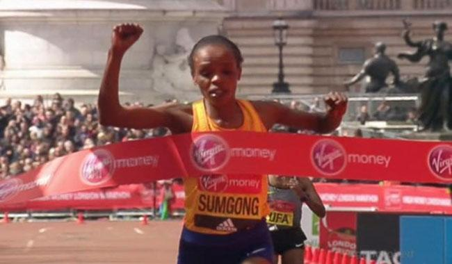Jemima-Sumgong-Wins-London-Marathon-Despite-Heavy-Fall