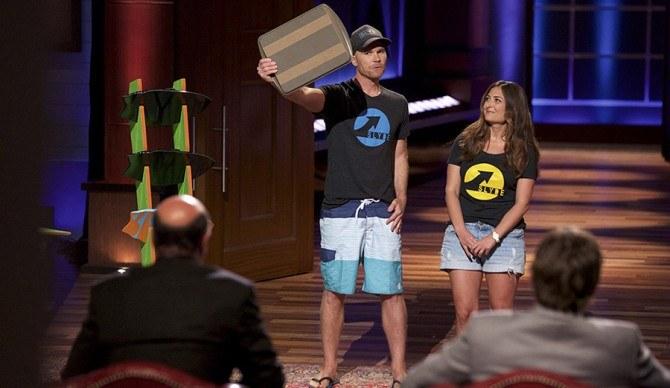 Mark Cuban And Ashton Kutcher Invest Bodysurfing Innovation on Shark Tank