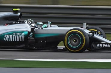 Rosberg romps to hat-trick in China Lewis Hamilton seventh