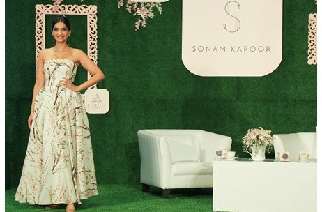 Actress Sonam Kapoor launches her own App