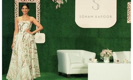 Actress Sonam Kapoor launches her own App