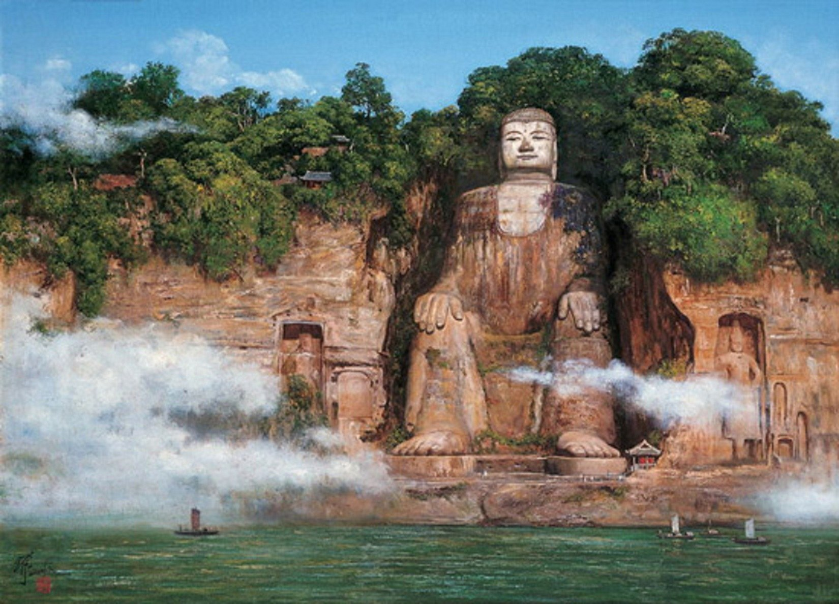 Tracing the World's Largest Buddha Statues