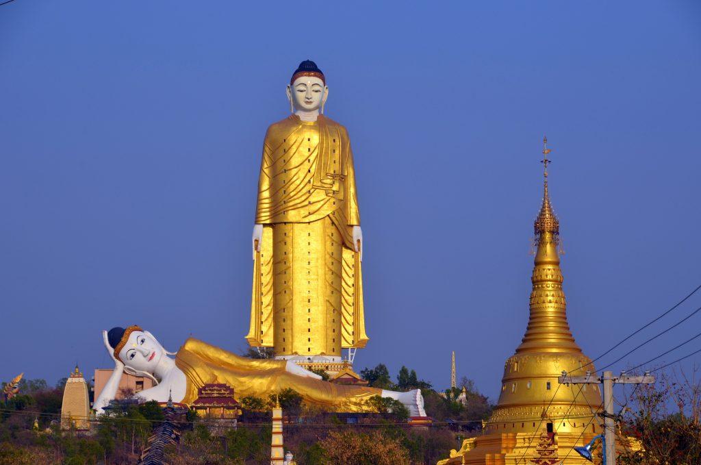 Monywa Buddha, Myanmar