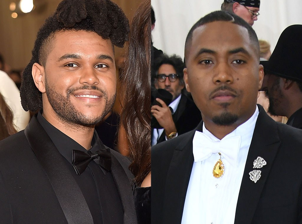 "Nas Joins The Weeknd on the Met Gala Stage to Perform ""Tell Your Friends"" Remix"